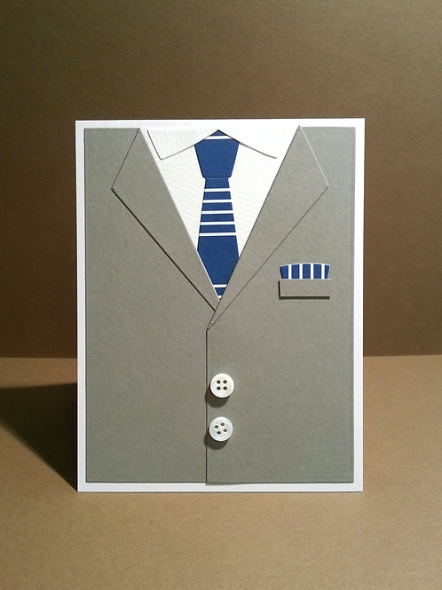 Grey Suit & Tie