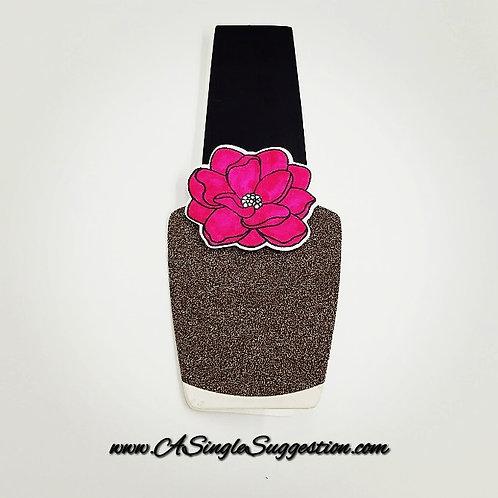 Flowered Nail Polish