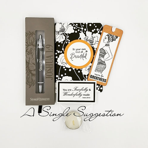 Strong & Courageous Gift Set
