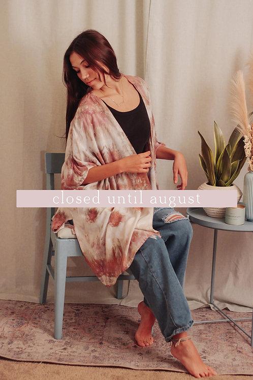 MADE TO ORDER: Kimonos