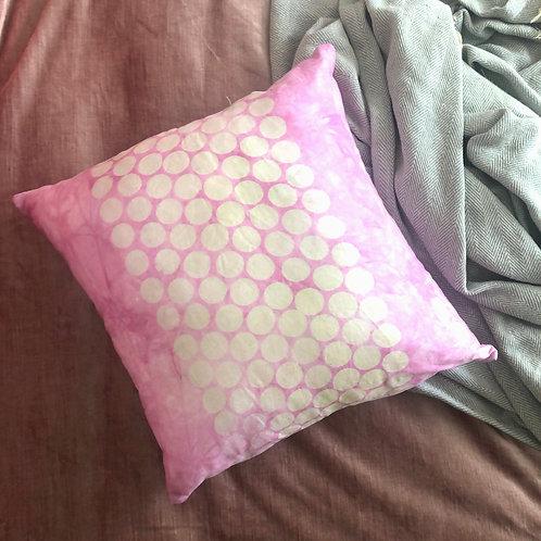 Pink Circle Pillowcase