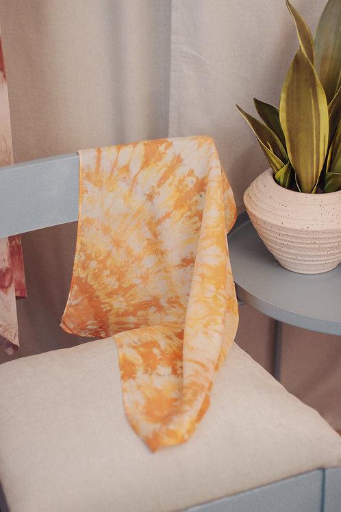 Yellow/Orange Silk Scarves