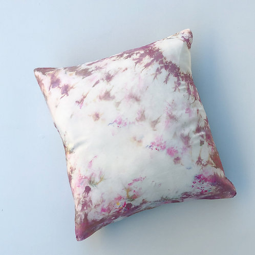 Mini Silk Pillow in Dusty Hues 1 (Pillow Included!)