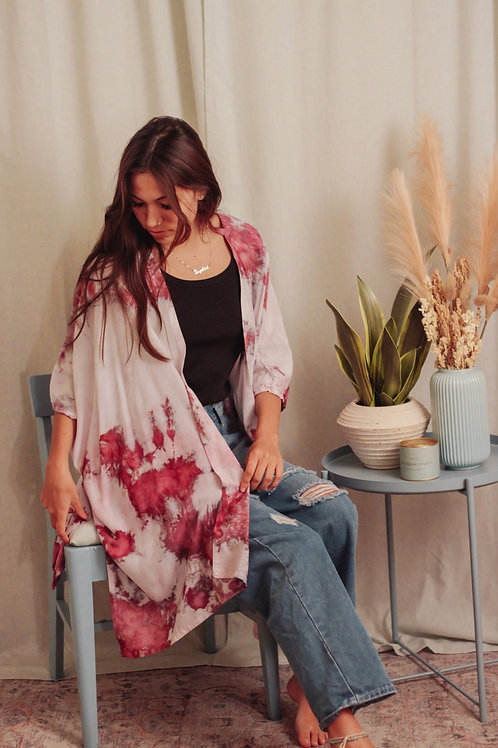 Dusty Hues Kimono