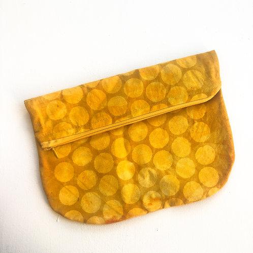 Marigold Circle Fold-Over Clutch