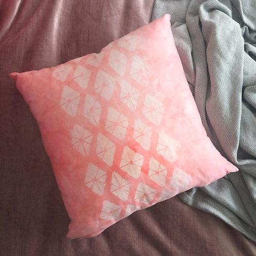Peach Diamond Pillowcase