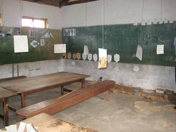 Classroom in Ward 9 (Matobo area)