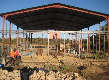 Community Center build - day 4!