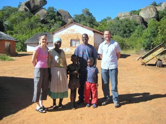 Jenni, Emily, her two grandchildren, Diamond and Peter