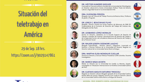 """Webinar """"Situación del teletrabajo en Amérca"""""""
