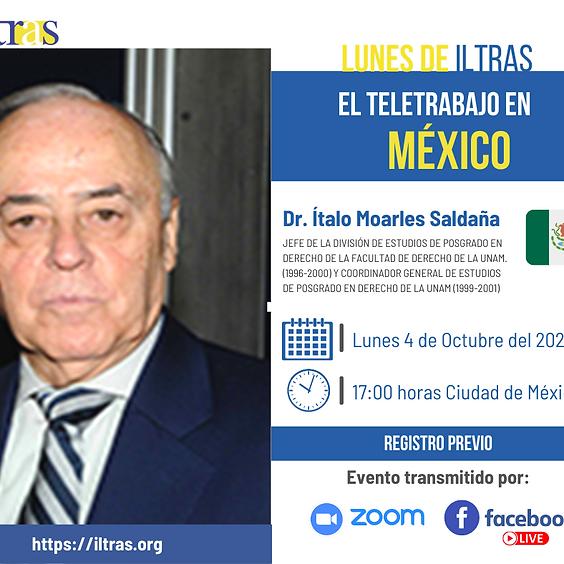 Lunes del Iltras: El Teletrabajo en México