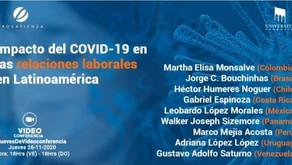 Impacto del COVID-19 en las relaciones laborales en Latinoamérica