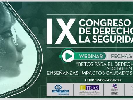 IX Congreso Internacional de Derecho Laboral y la Seguridad Social
