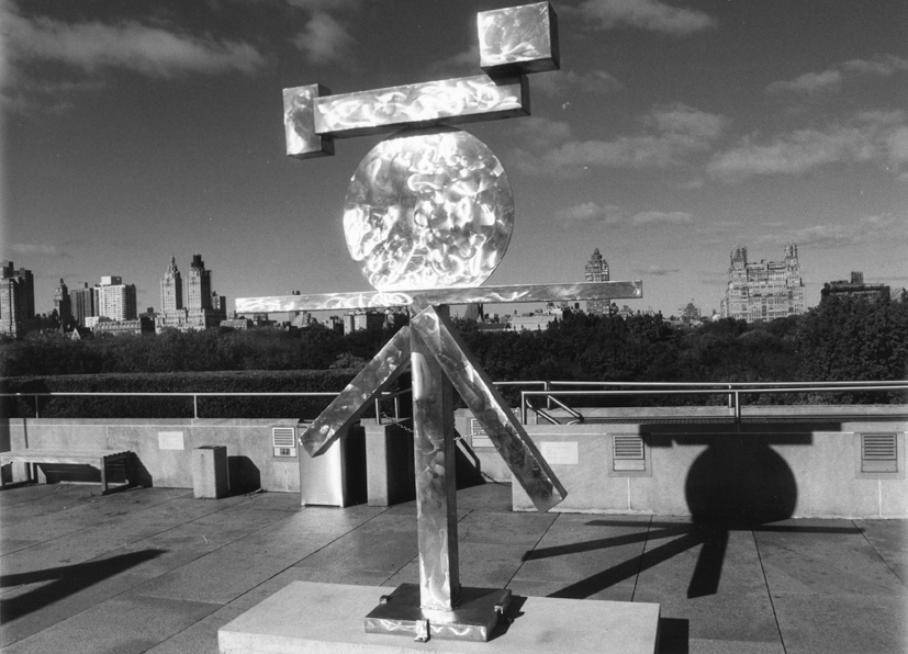 David Smith, Roof of the Met, NY