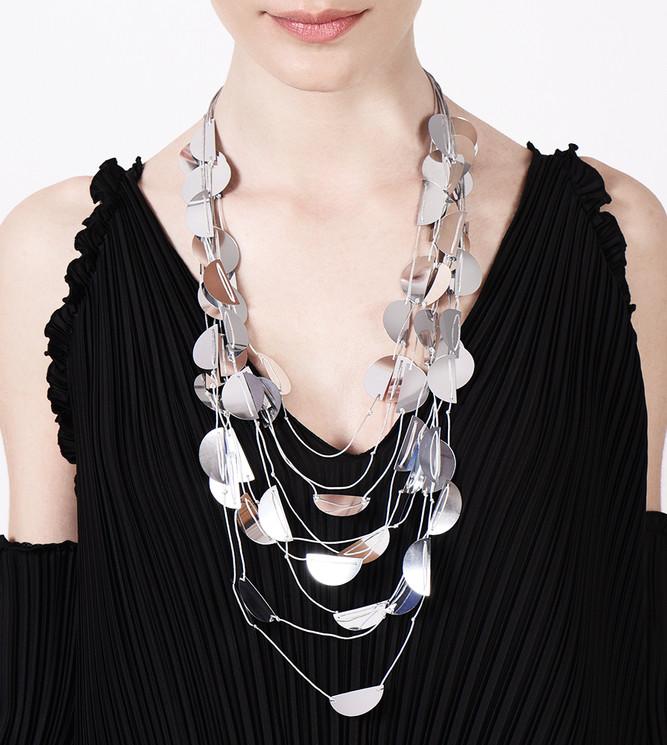Semi necklace Disco