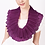 Thumbnail: Circular Pleated Scarf. Purples