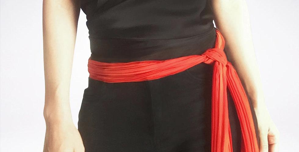 Line scarf necklace
