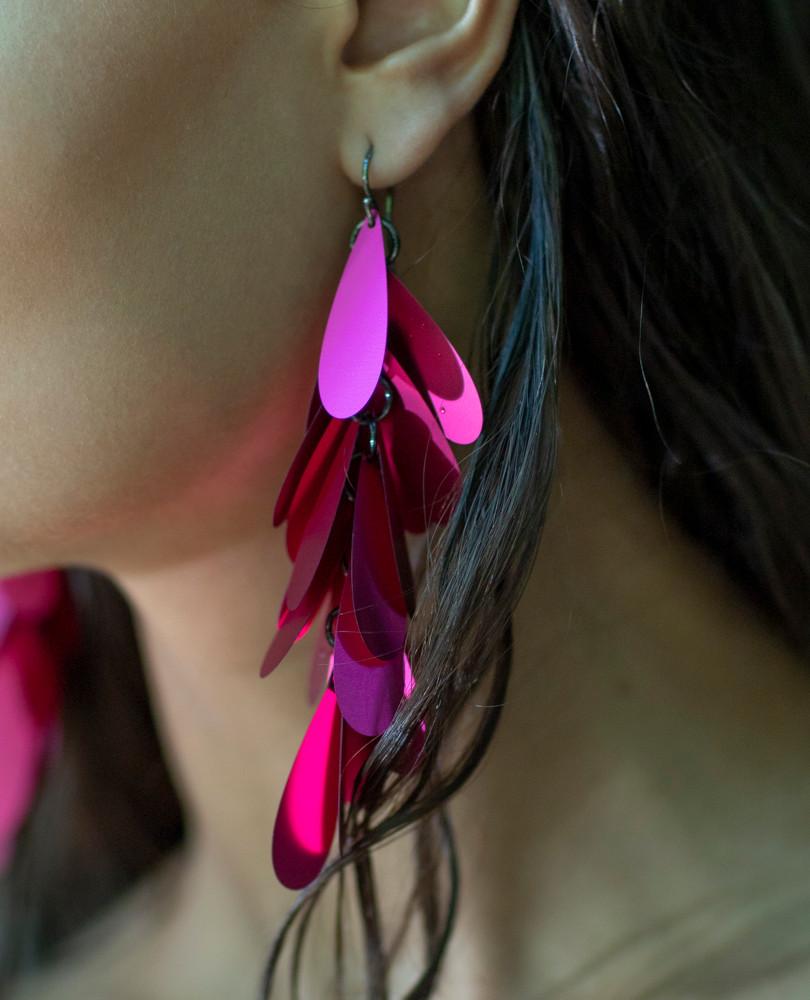 Petal Earrings Azalea
