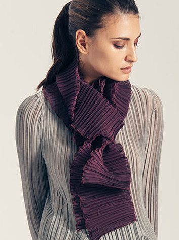Classic Pleated Scarves