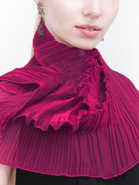 Azalea Classic Pleated scarf