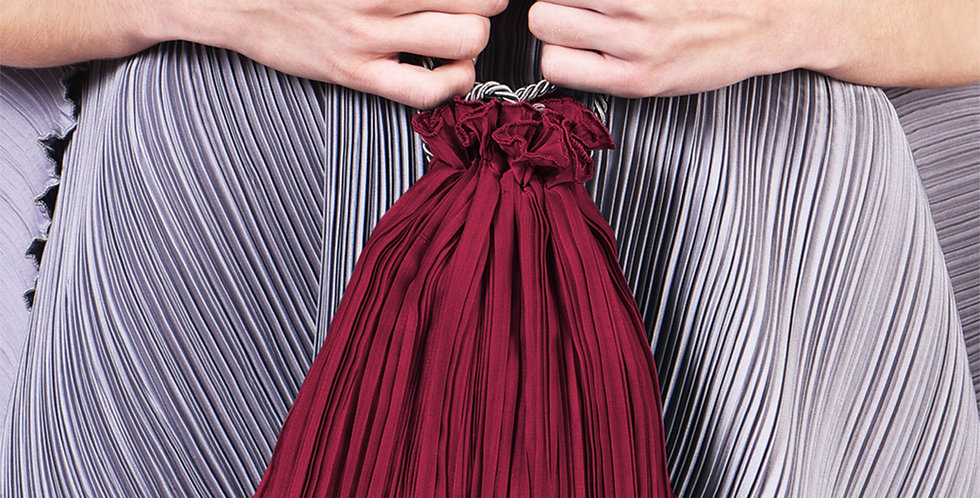 Penelope Pleated Pouch