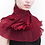 Thumbnail: Classic Pleated Scarf. Reds