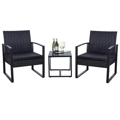 Flamaker 3 Pieces Patio Outdoor Furniture Set