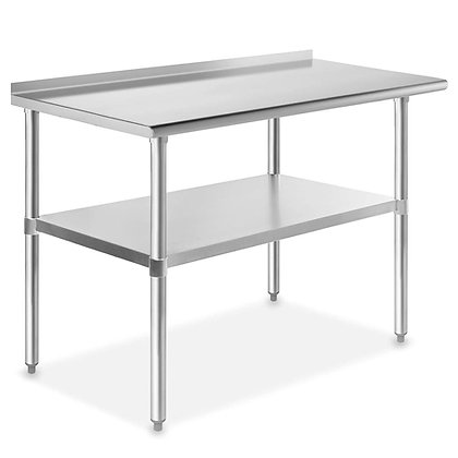 NSF Stainless Steel Kitchen Prep & Work Table