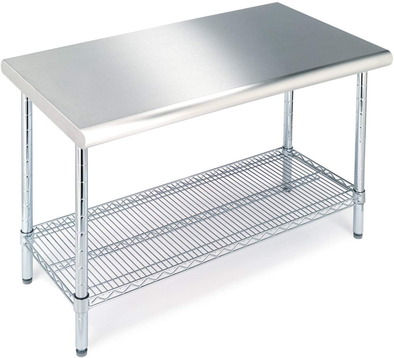 Multipurpose Utility Stainless Steel Table Comfy Niche