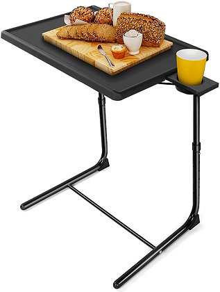 Foldable Height Adjustable Couch Table / Food Tray Table
