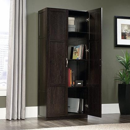Wooden Storage Cabinet w/ Adjustable Shelves