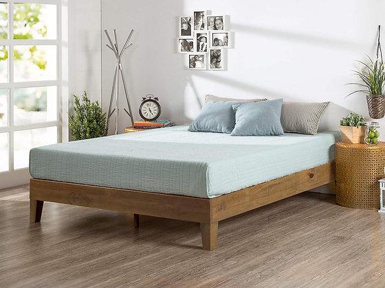 Zinus Alexis 12 Inch Deluxe Wood Platform Bed