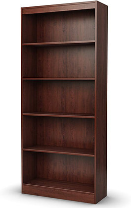 5-Shelf Wooden Royal Cherry Shelves