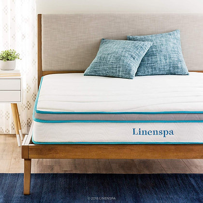 Linenspa Memory Innerspring Hybrid Mattress