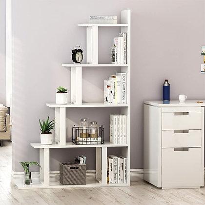 Sleek Ladder style 5-level Shelf