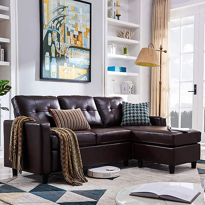 Convertible Sectional Sofa Couch - L Shaped