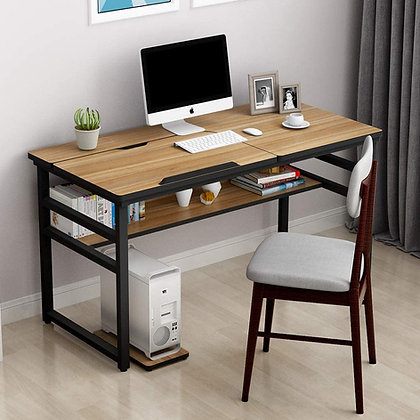 Modern Computer Desk with Drawing/Reading Workstation