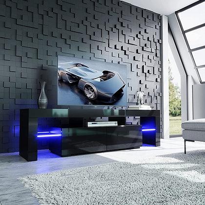 Modern LED TV Stand w/ Color Change Lighting