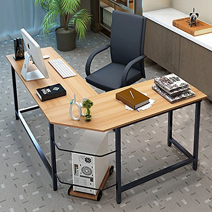 L-Shaped Computer Desk (Home Office)