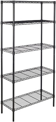 Metal 5-Level Shelf Storage Unit