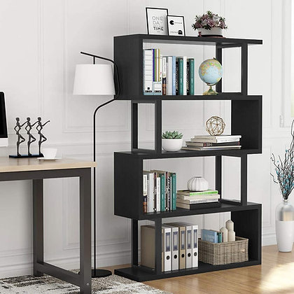 Sleek 4-Tier Display Shelf
