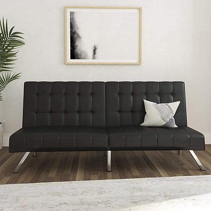 DHP Multifunctional Convertible Futon Sofa