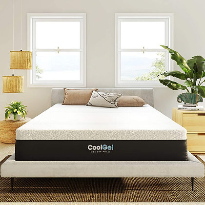 Luxurious Cool Gel and Ventilated Memory Foam
