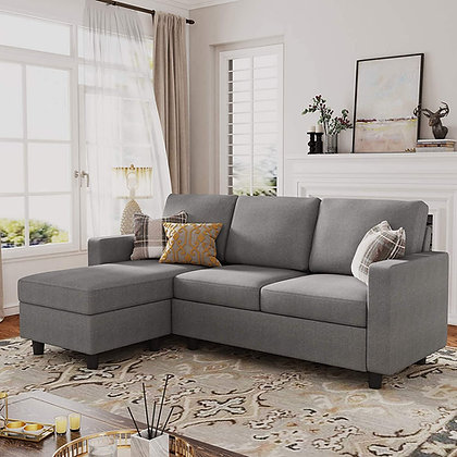 Sectional Convertible Sofa - L Shape