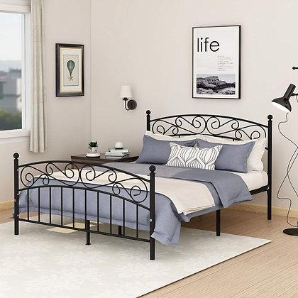 Victorian Style Platform Bed Frame