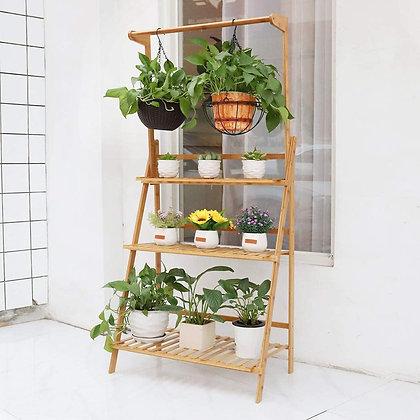 3 Level Bamboo Shelf