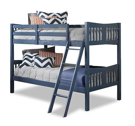 Storkcraft Caribou Hardwood Twin Bunk Bed