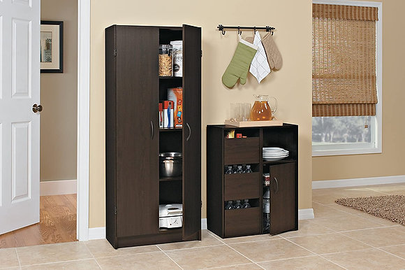 Classic Wooden Pantry Cabinet