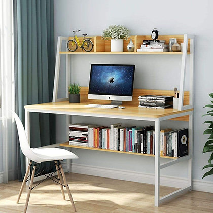 Multipurpose Office Desk with Shelf