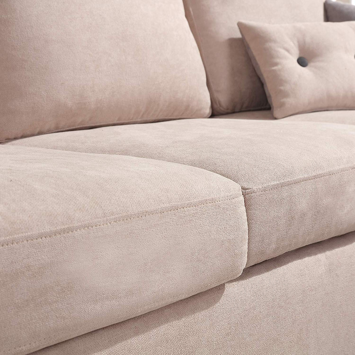 Convertible Sectional Sofa Couch L Shaped Comfy Niche